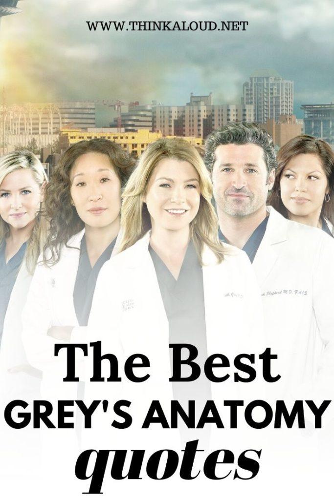 The Best Grey's Anatomy Quotes