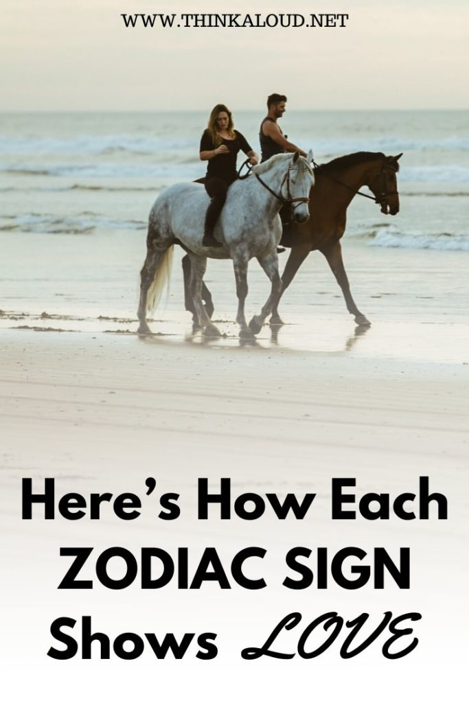 Here's How Each Zodiac Sign Shows Love