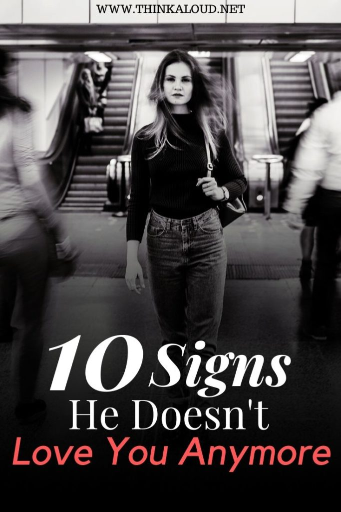 10 Signs He Doesn't Love You Anymore