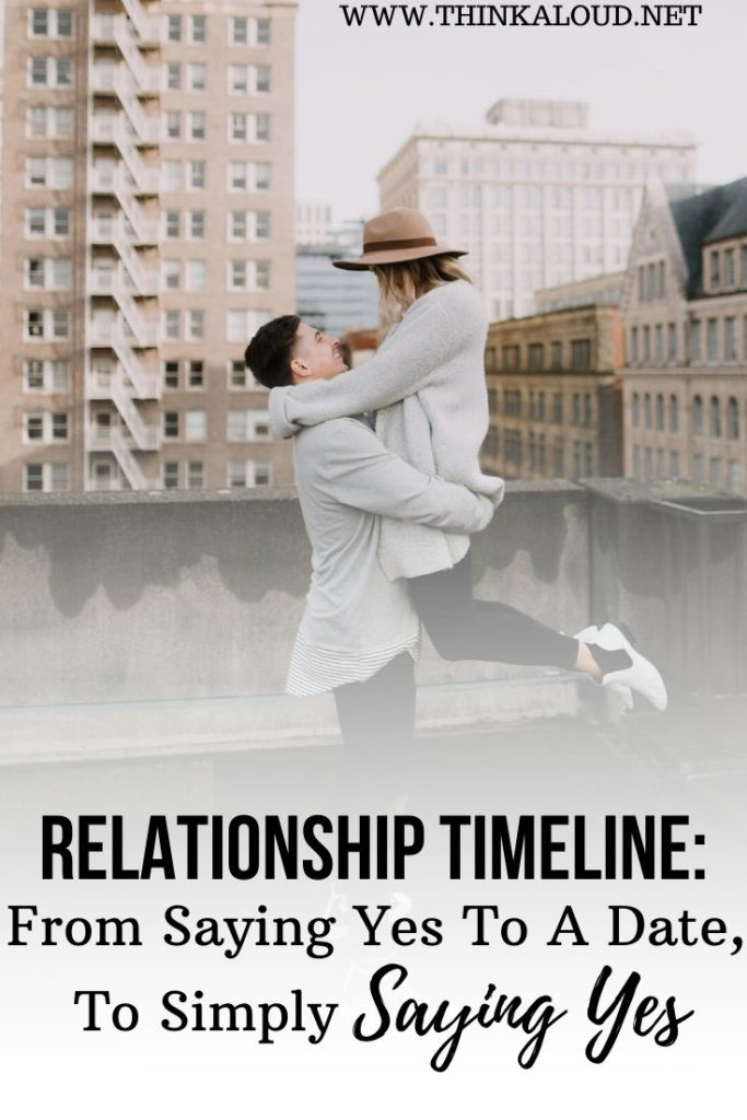 Relationship Timeline: From Saying Yes To A Date, To Simply Saying Yes