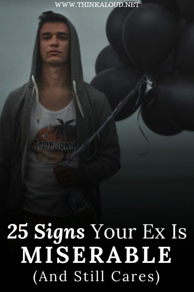 25 Signs Your Ex Is Miserable (And Still Cares)