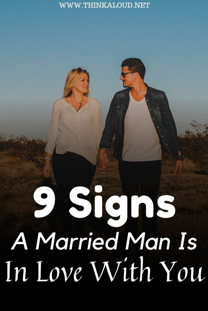 Signs a married man is pursuing you