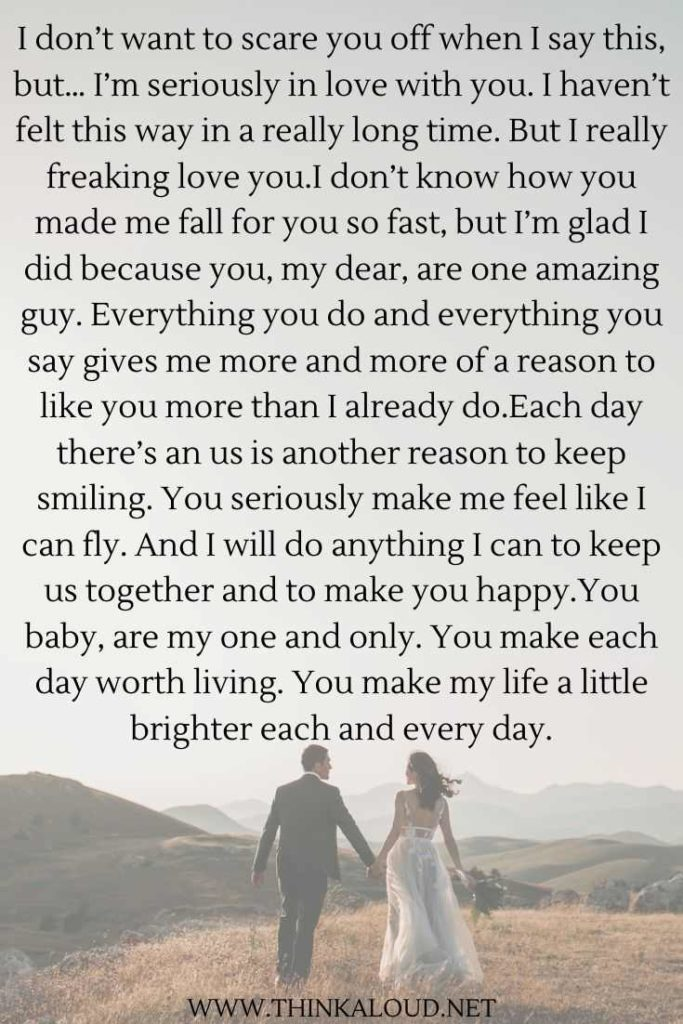 31 Cute Paragraphs For Him