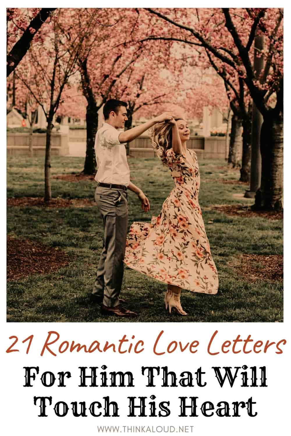 21 Romantic Love Letters For Him That Will Touch His Heart