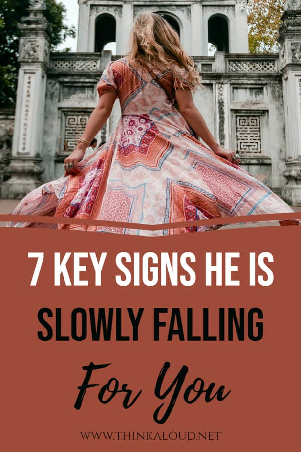 7 Key Signs He Is Slowly Falling For You