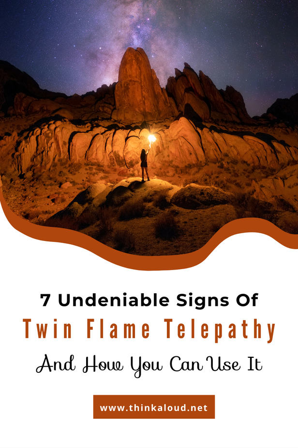 Soulmate signs telepathy of 11 Psychic