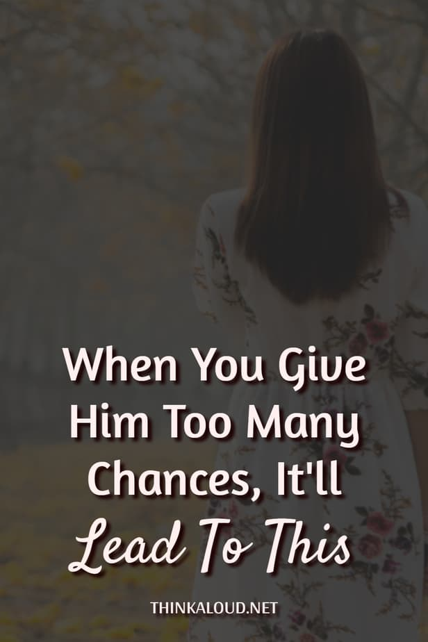 When You Give Him Too Many Chances, It'll Lead To This